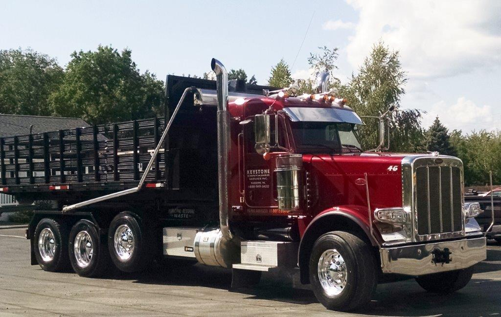 Keystone Container Hauling Truck