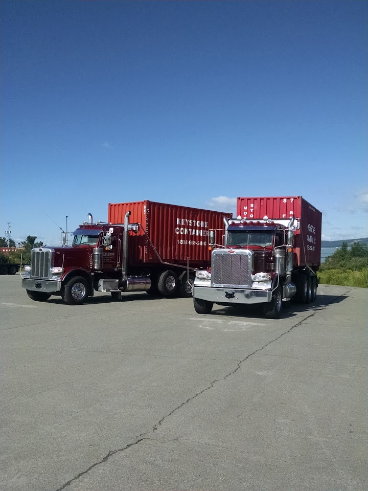 Keystone Container Storage Trucks